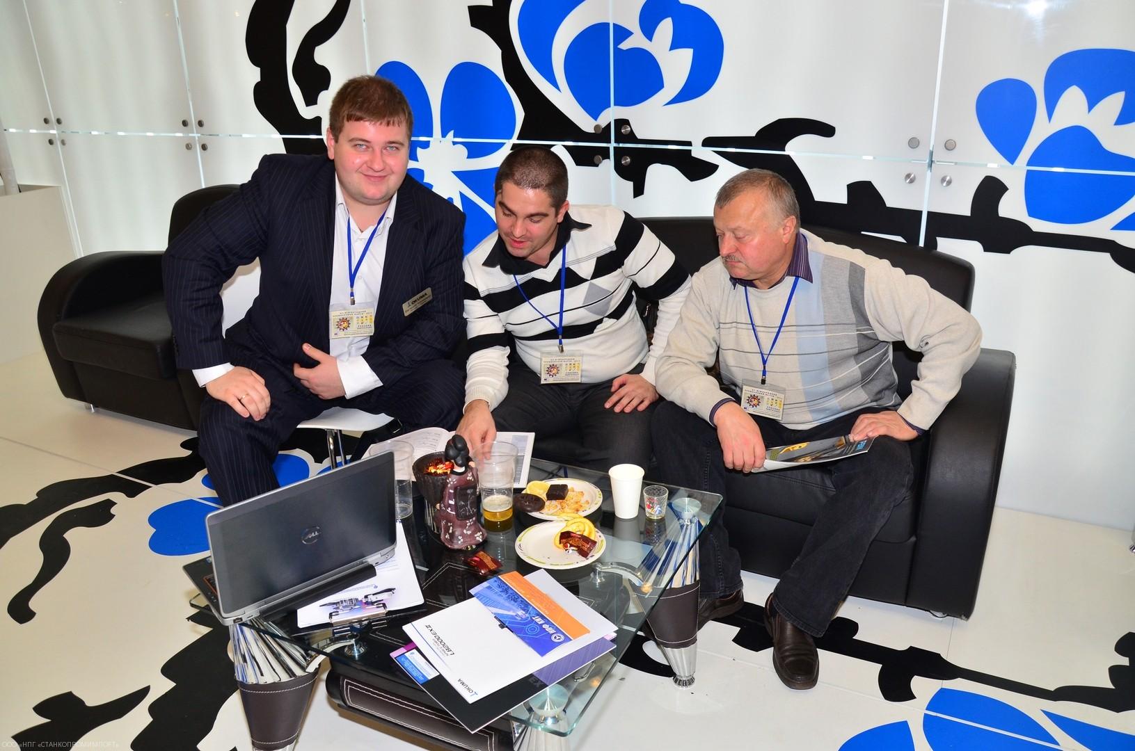 Международный промышленный форум 2013. Работа с клиентами