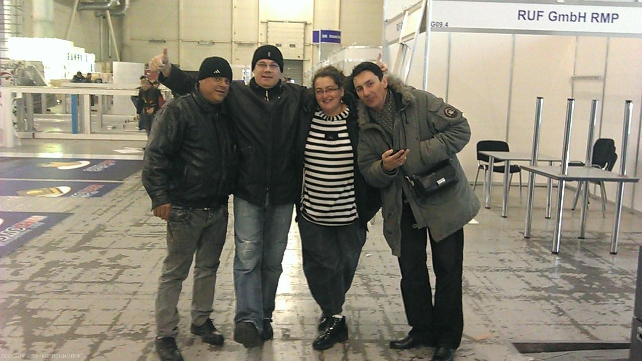 Израиль+Германия+Украина- вместе мы сила! Подготовка к выставке 2013