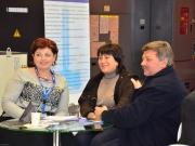 Директор Phoenix Machine Tools AG Рина Мил и первые покупатели станка Multus в Украине, ООО «Механик»